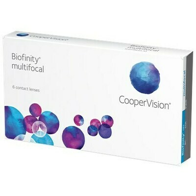 Biofinity Multifocal - 6 Pack