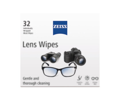 ZEISS Lens Wipes (32 wipes) incl. Delivery