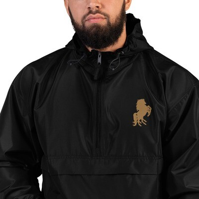 Italian Stallion Embroidered Champion Packable Jacket