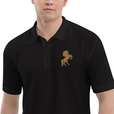 Italian Stallion Men's Premium Polo