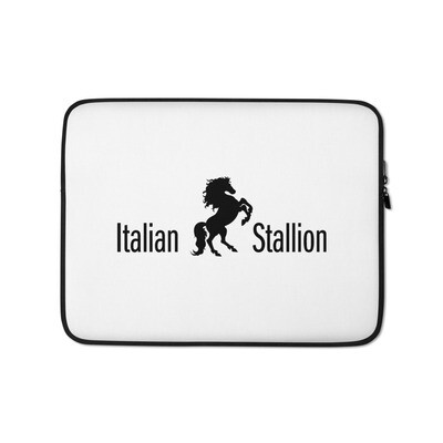 Italian Stallion Laptop Sleeve
