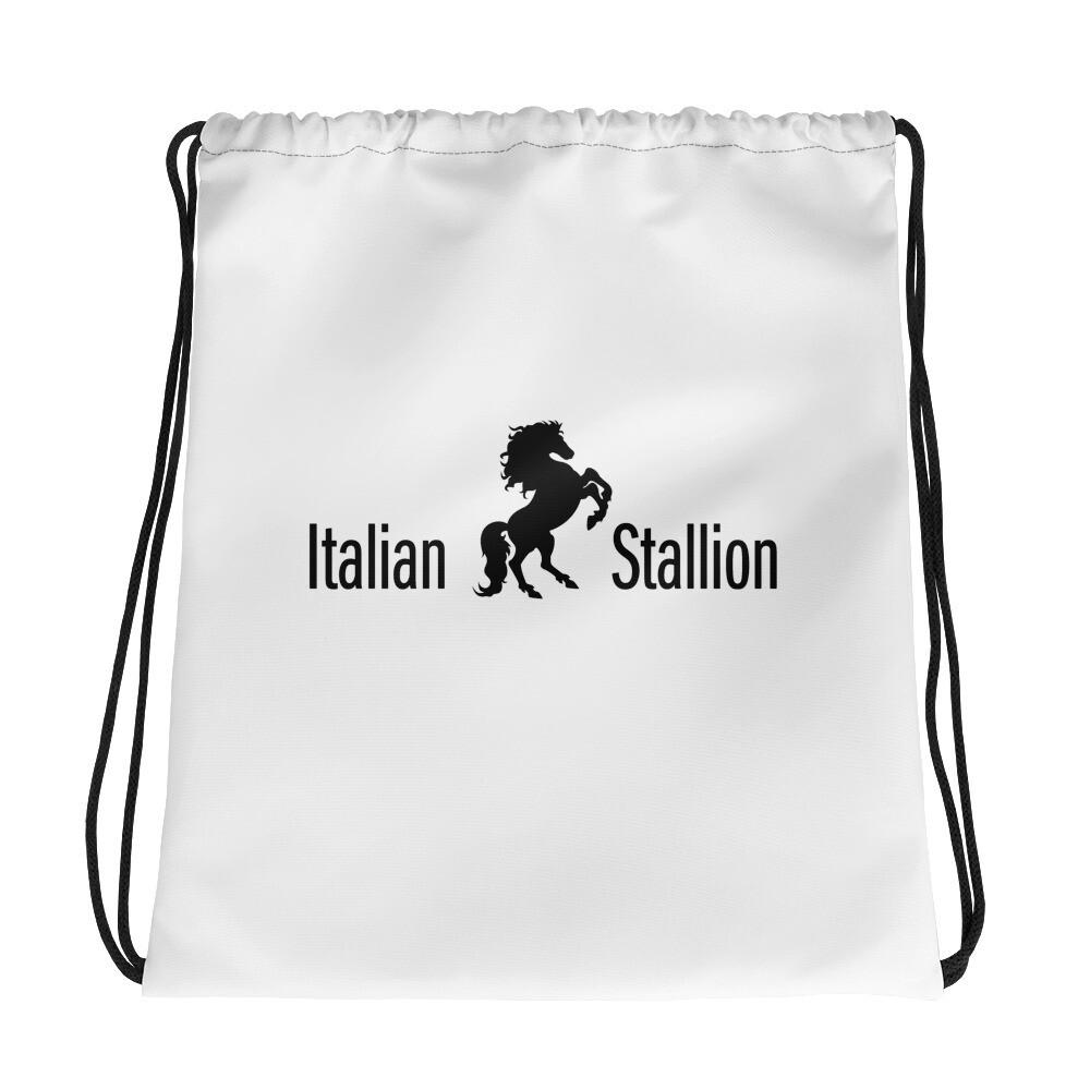 Italian Stallion Drawstring bag