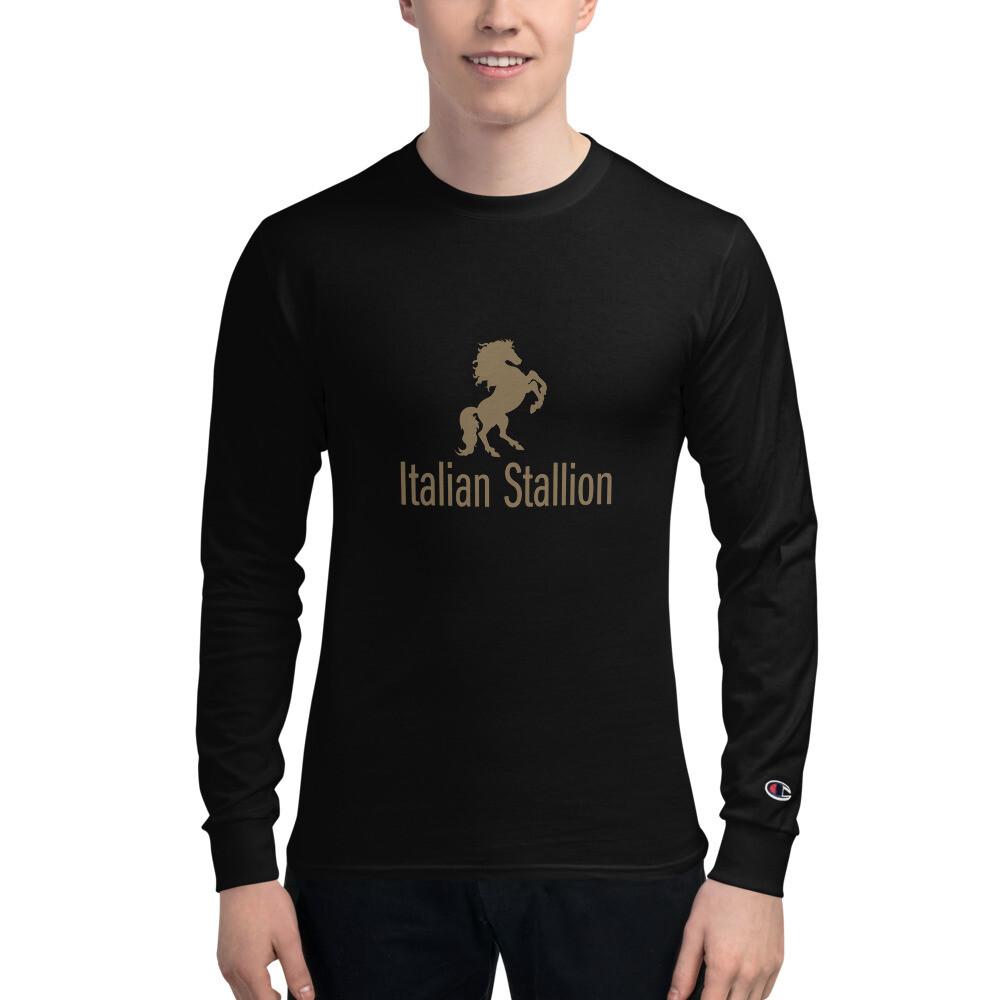 Italian Stallion Men's Champion Long Sleeve Shirt