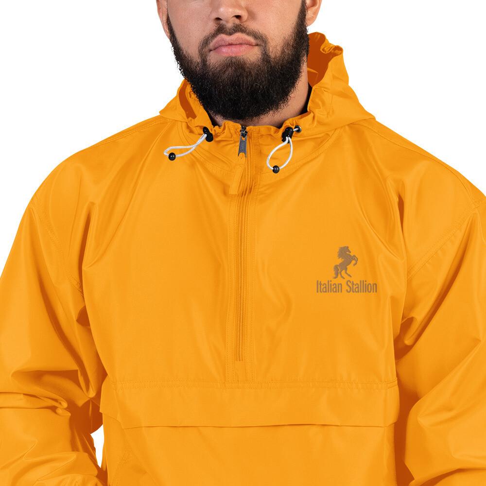 Italian Stallion Embroidered Champion Packable Jacket