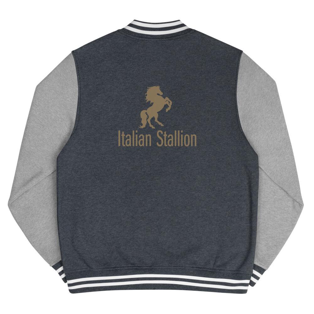 Italian Stallion Men's Letterman Jacket