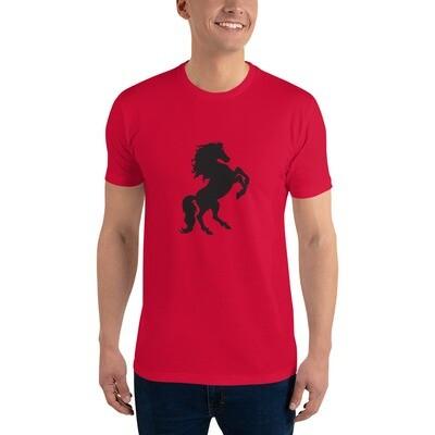 Italian Stallion Short Sleeve T-shirt (Black Stallion)