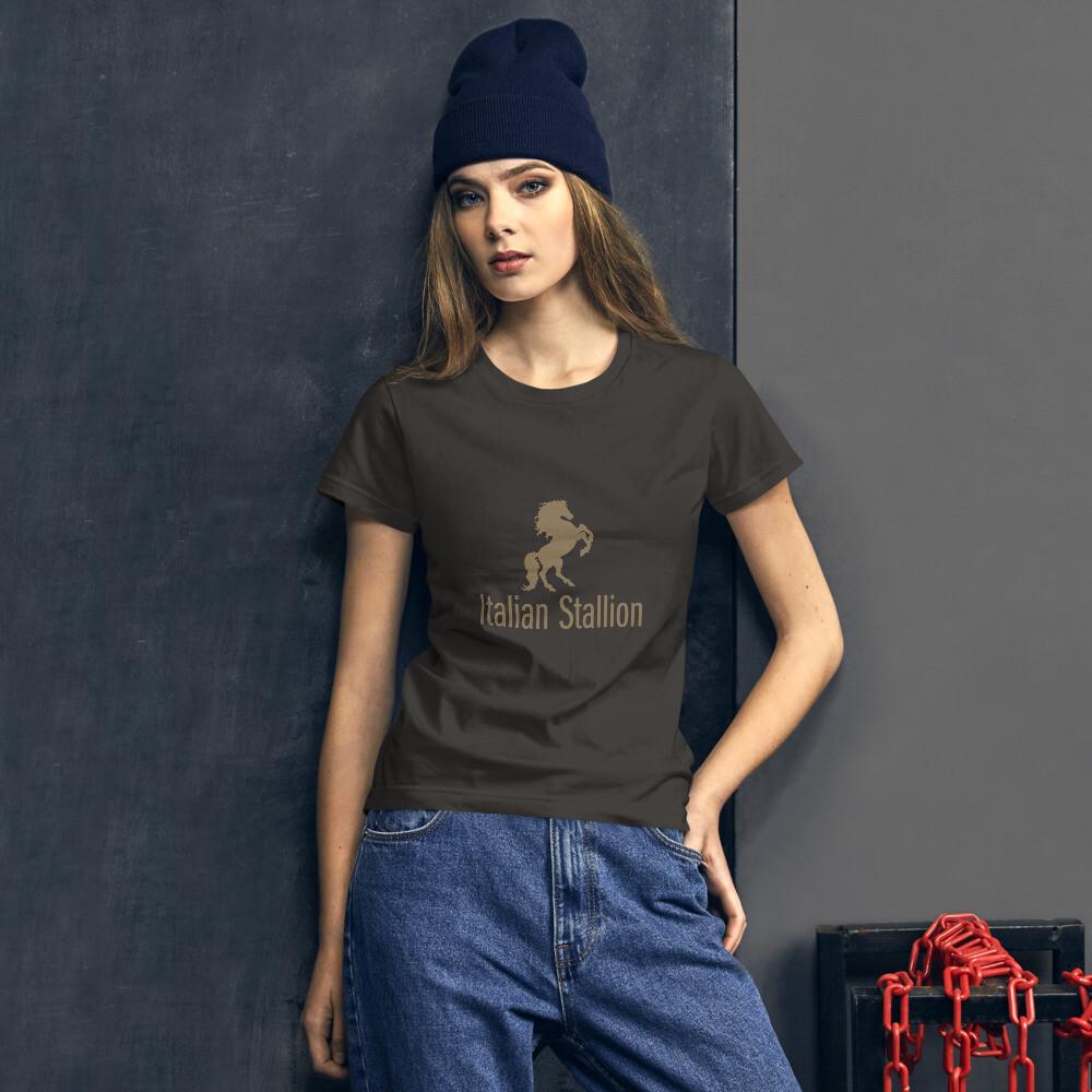 Italian Stallion Women's short sleeve t-shirt