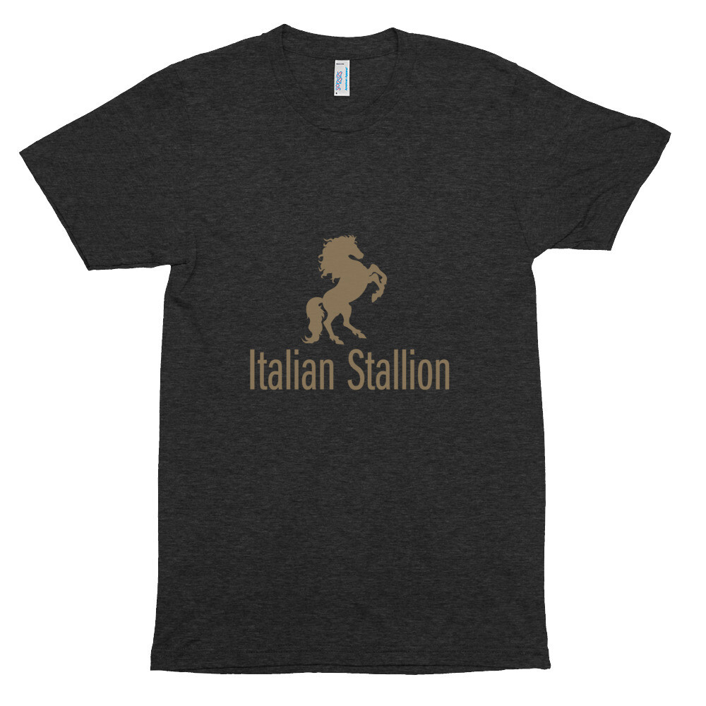 Italian Stallion Unisex Tri-Blend Track Shirt