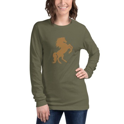 Italian Stallion Unisex Long Sleeve Tee