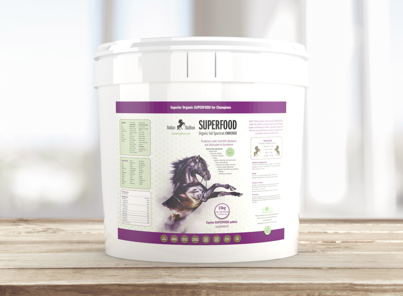 Italian Stallion 15kg Horse SUPERFOOD Pellets