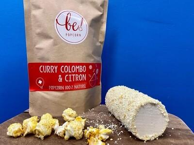 Bûche Popcorn Curry