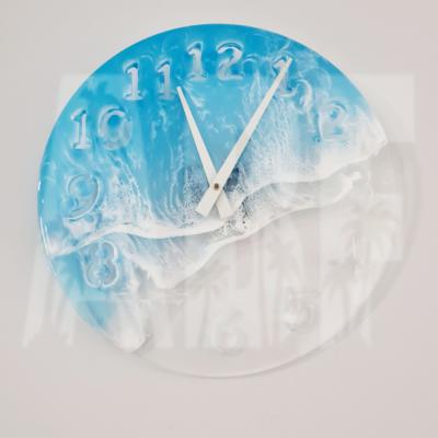 Acrylic Clear Clock Base