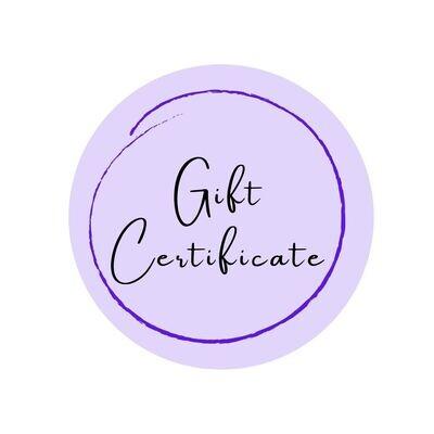 Gift Certificate - 120 min.