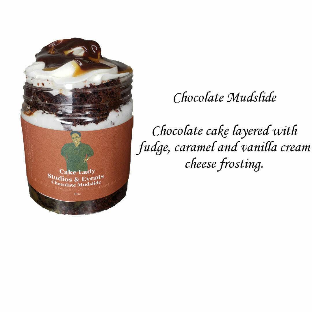 Mudslide Cake Jar