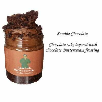 Double Chocolate Cake Jar