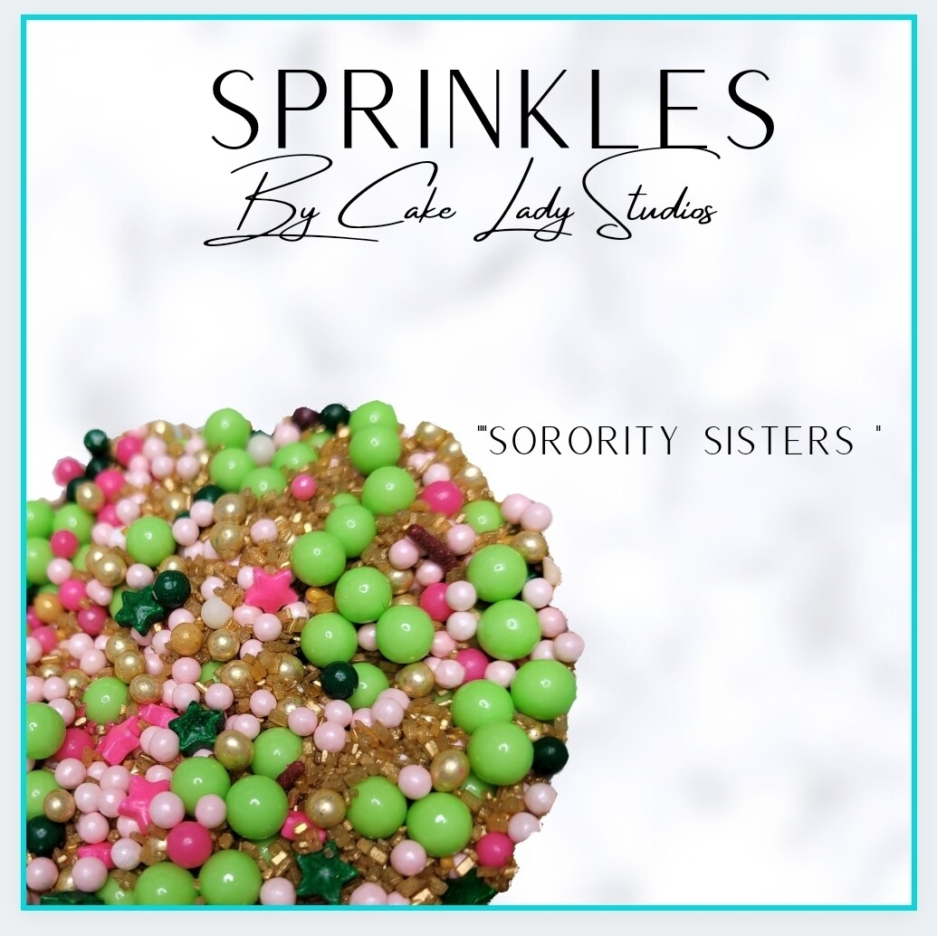"""Sorority Sisters"" Sprinkles"