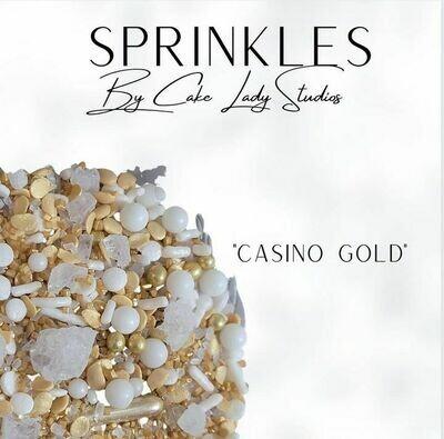 """""""Casino Gold"""" Sprinkles"""
