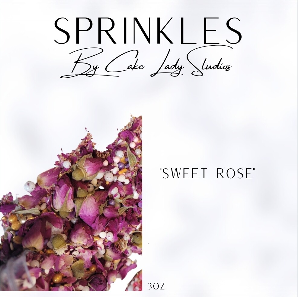 """Sweet Rose"" Sprinkles"