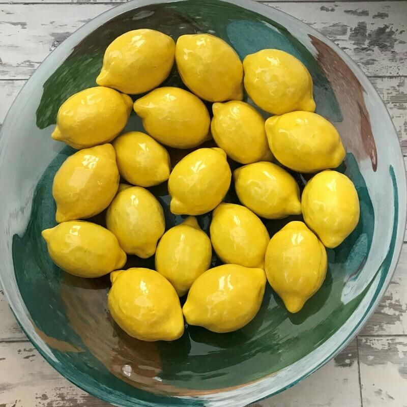 Ceramic lemons