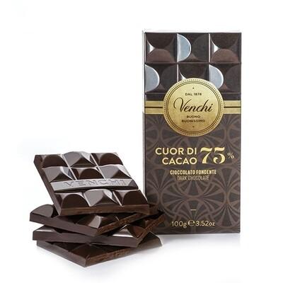 Tavoletta Cuor di Cacao 75% Venchi g 100