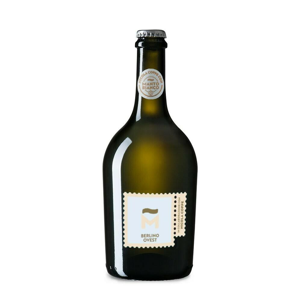 """Birra Artigianale """"Berlino Ovest"""" - Manto Bianco"""