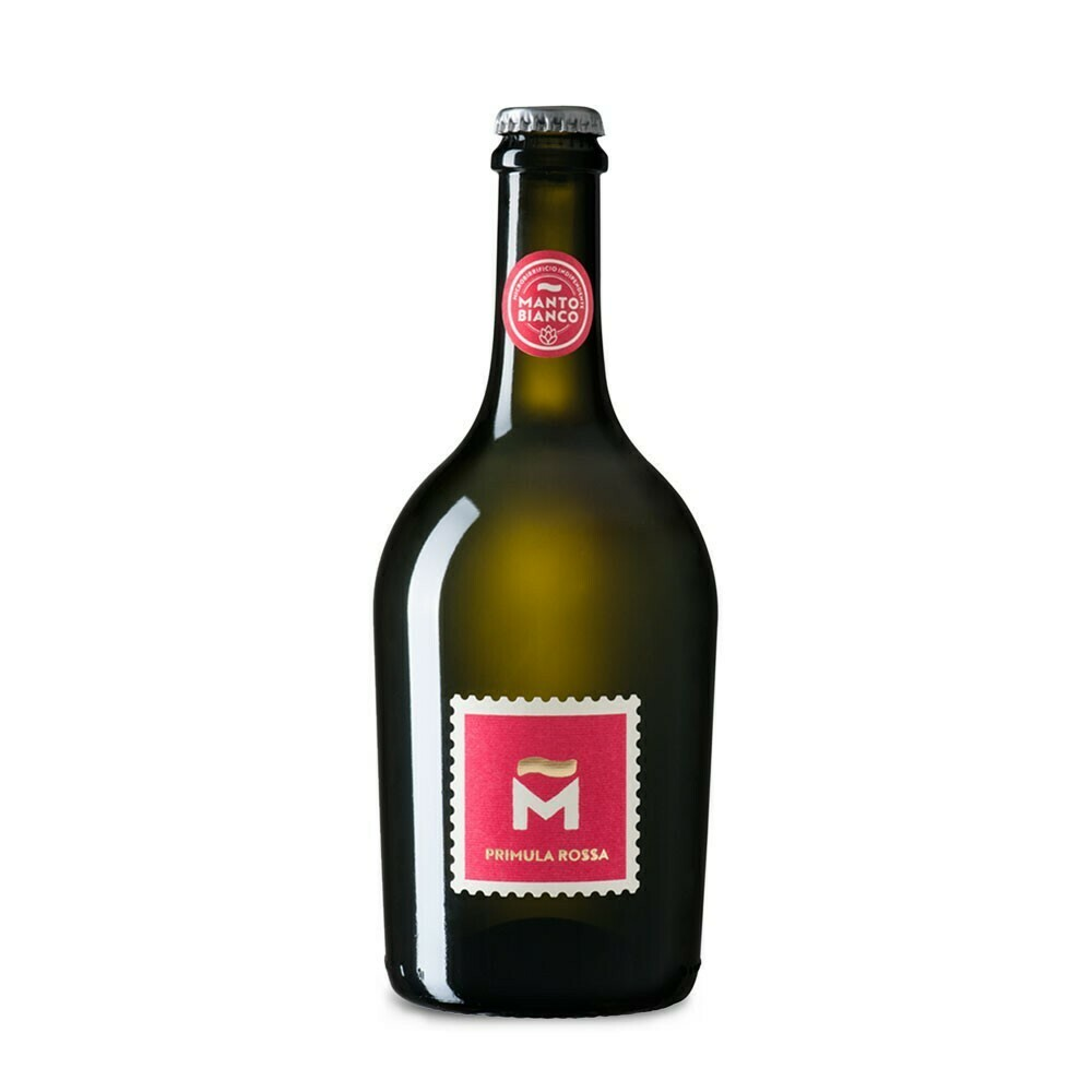 Birra Artigianale PRIMULA ROSSA Manto Bianco
