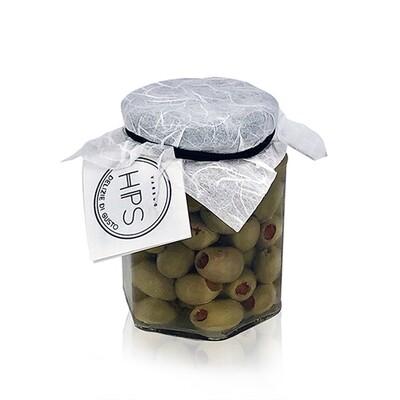 SOTT'OLIO | Olive farcite in olio di Oliva Gr. 290