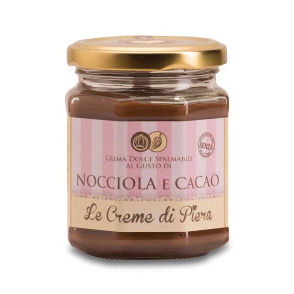 Crema spalmabile al cacao e nocciola Le Creme di Piera 220 g