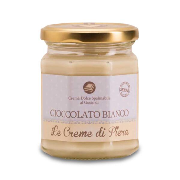 Crema dolce spalmabile al gusto di Cioccolato Bianco
