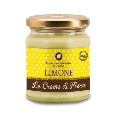 Crema spalmabile al limone Le creme di Piera 220 g