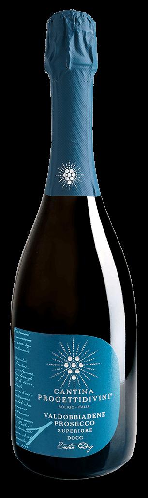 BOLLICINE | Valdobbiadene Prosecco superiore D.O.C.G. extra dry Cantina Progettidivini
