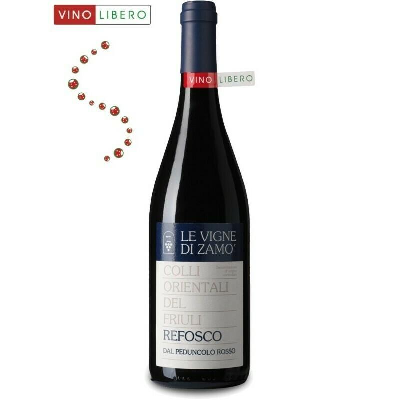 VINO ROSSO | Colli Orientali del Friuli D.O.C. Refosco dal peduncolo rosso 2015 Cantina Le Vigne di Zamò
