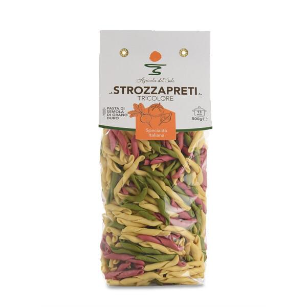 PASTA | Strozzapreti Tricolore 500 g - Agricola del Sole