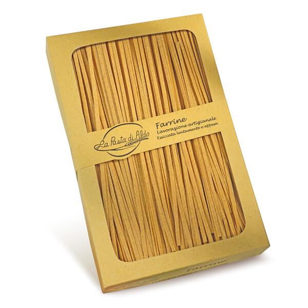 PASTA | Farrine Tagliatelle con farina di farro 250 g - La Pasta di Aldo