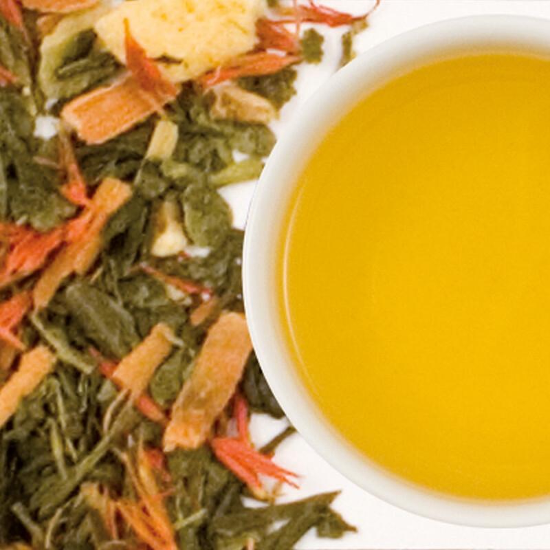 Tè verde profumato Zenzero & Lime  - 10 filtri