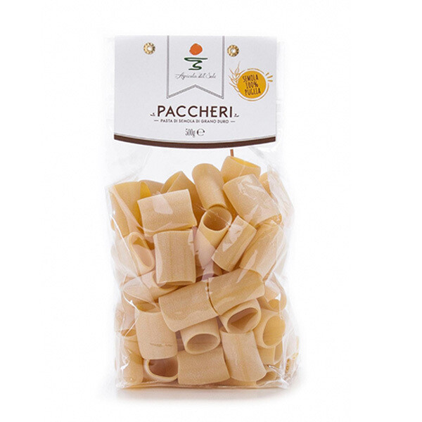PASTA | Paccheri 500 g - Agricola del Sole