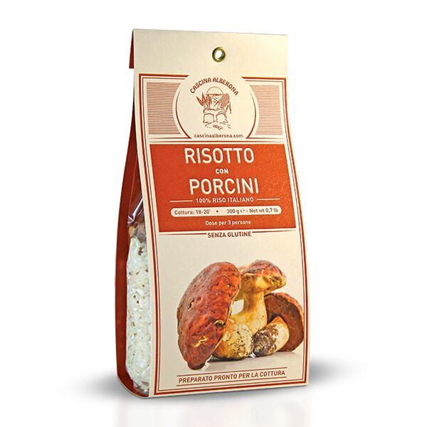 RISO | Risotto con Porcini 300 g Cascina Alberona
