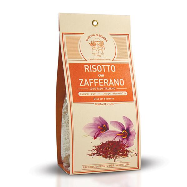RISO | Risotto allo Zafferano 300 g Cascina Alberona