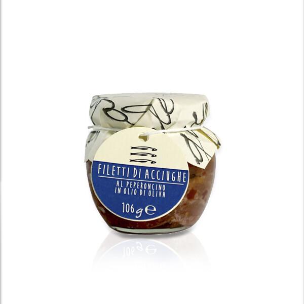 MARE   Filetti di acciuga al peperoncino 106 g