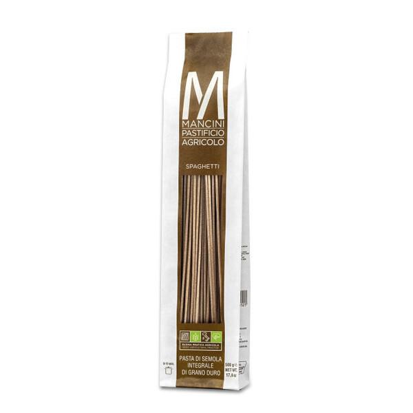 PASTA | Spaghetti Integrali 500 g - Pastificio Mancini