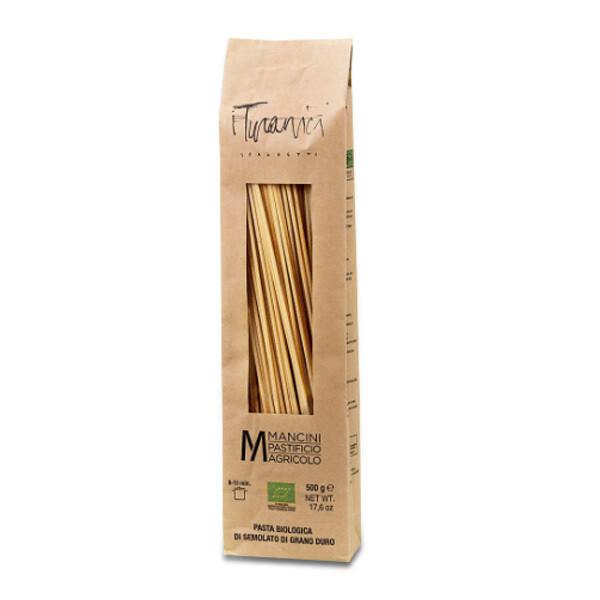 PASTA | Spaghetti Grani Turanici BIO 500 g - Pastificio Mancini