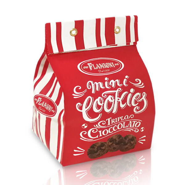 Sacchetto Mini Cookies 200 g Flamigni