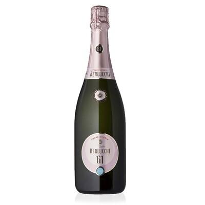 SPUMANTE ROSATO | Franciacorta D.O.C.G. BERLUCCHI 61 rosè brut Cantina Berlucchi