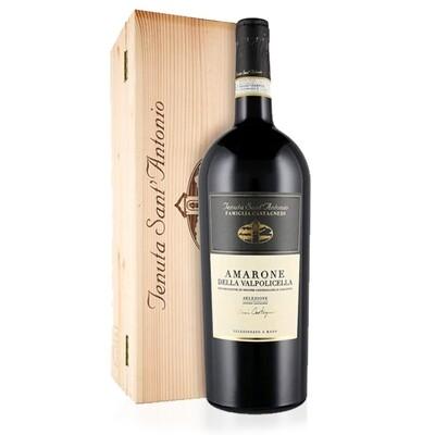 CASSETTA LEGNO | Amarone della Valpolicella D.O.C.G. SELEZIONE CASTAGNEDI Cantina Sant'Antonio 1500 ml