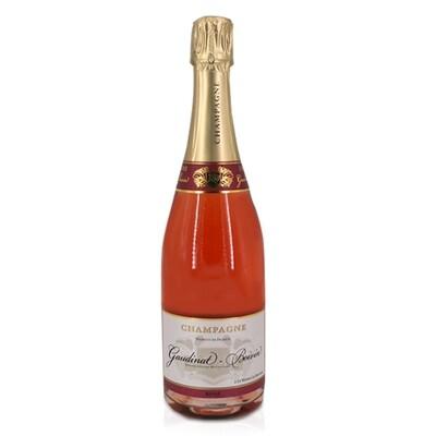 BOLLICINE | Champagne Gaudinat boivin rosè brut