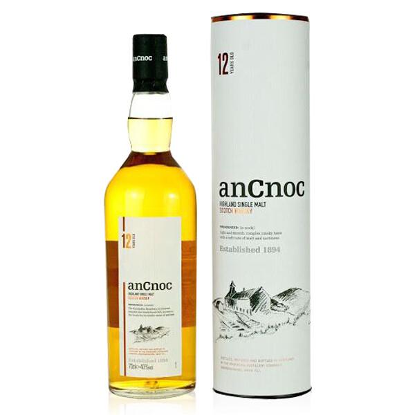 WHISKY | Whisky AN CNOC 12 anni ASTUCCIO