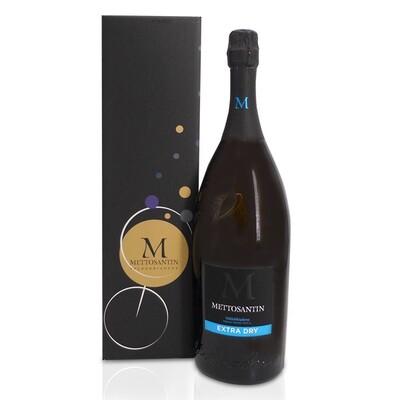 BOLLICINE | Valdobbiadene prosecco superiore D.O.C.G. extra dry 1500 ml Cantina Mettosantin