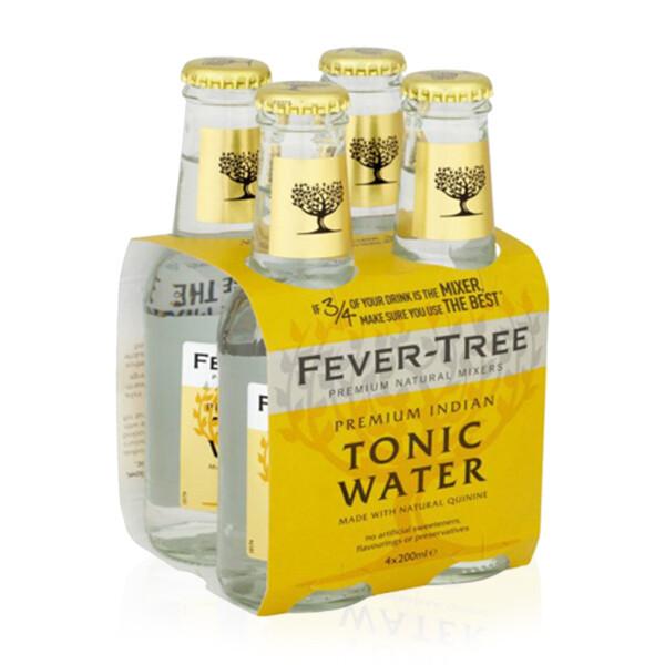 ACQUA TONICA | INDIAN PREMIUM Fever Tree 4 x 200 ml