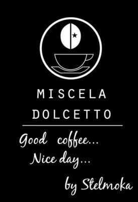 MISCELA DI CAFFE' STELMOKA DOLCETTO