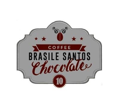 CAPSULE caffè STELMOKA BRASILE SANTOS CHOCOLATE compatibili Nespresso®